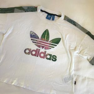Adidas athletic tee - womens size xs